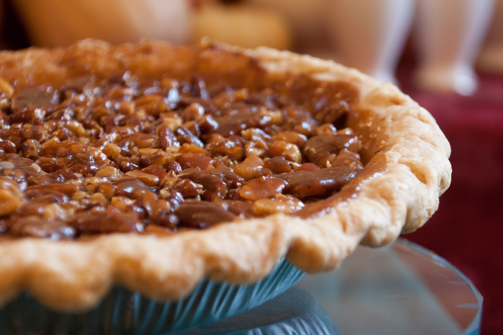 Smoked Nut Pie